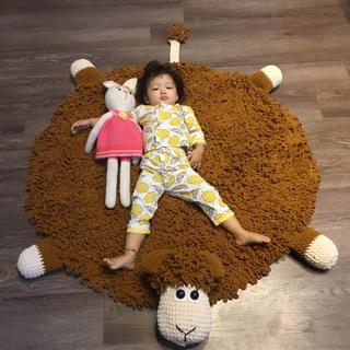 Thảm cừu cho bé