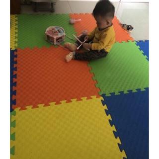 [Nhập 1212TOY giảm 10%]Combo 12 miếng thảm lót sàn, xốp ghép VN 60x60cm