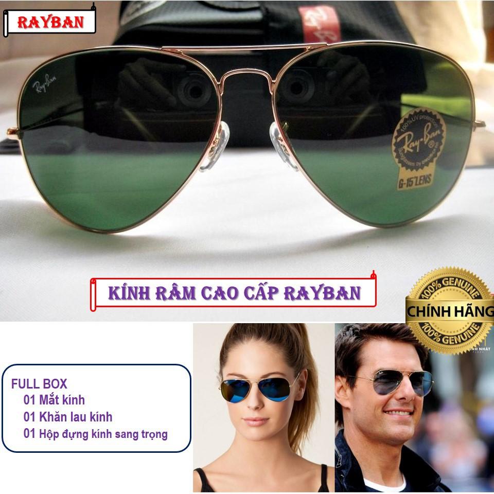 [KÍNH RÂM] Kính mắt mát nam nữ R.B Kim cương kiểu dáng thời trang cao cấp chống tia UV 400%...
