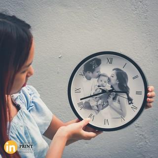 Đồng hồ treo tường IN ẢNH YÊU CẦU