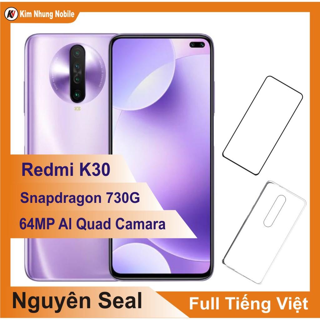 Combo Điện thoại Xiaomi Redmi K30 64GB Ram 6GB + Cường Lực - Hàng Nhập Khẩu