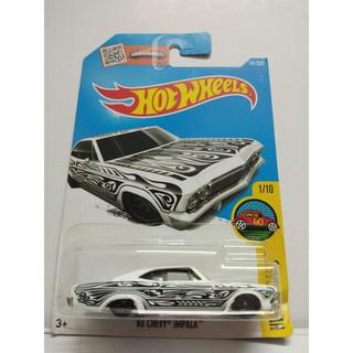Xe Mô Hình Chính Hãng HotWheels – 65 Chevy Impala