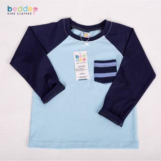 Áo thun có túi dài tay Beddep Kids Clothes cho bé trai từ 1 đến 8 tuổi B07 thumbnail