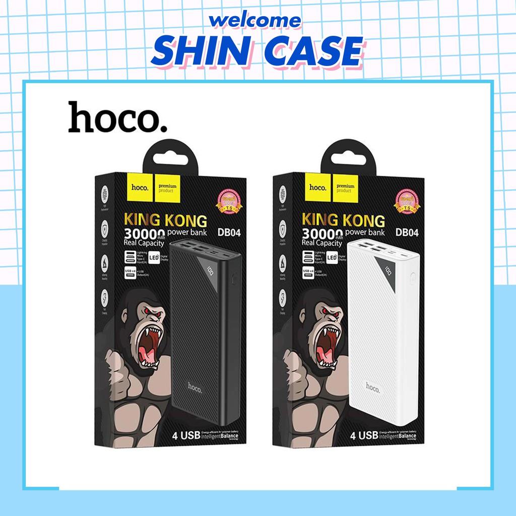 Sạc pin dự phòng Hoco King Kong DB04 30000mAh Chính Hãng - Ốp lưng iphone - Shin Case