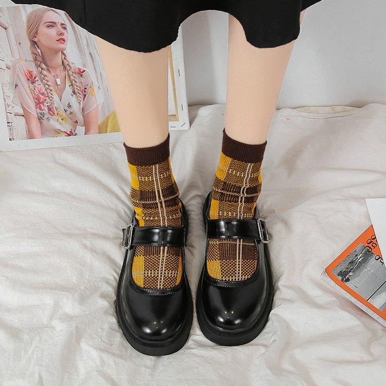 Giày Búp Bê Mũi Tròn Thời Trang Nữ Tính
