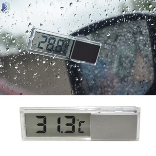 Yy Electronic Clock Suction Cup Digital LCD Display Portable Durable For Home Car @VN