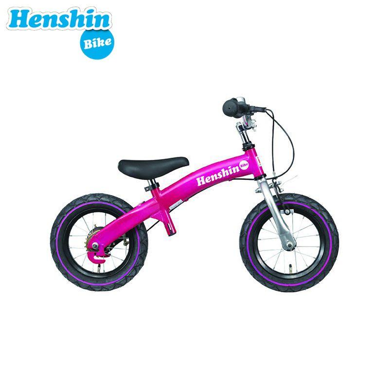 Xe đạp thăng bằng 2 in 1 Henshin Bike - Hồng
