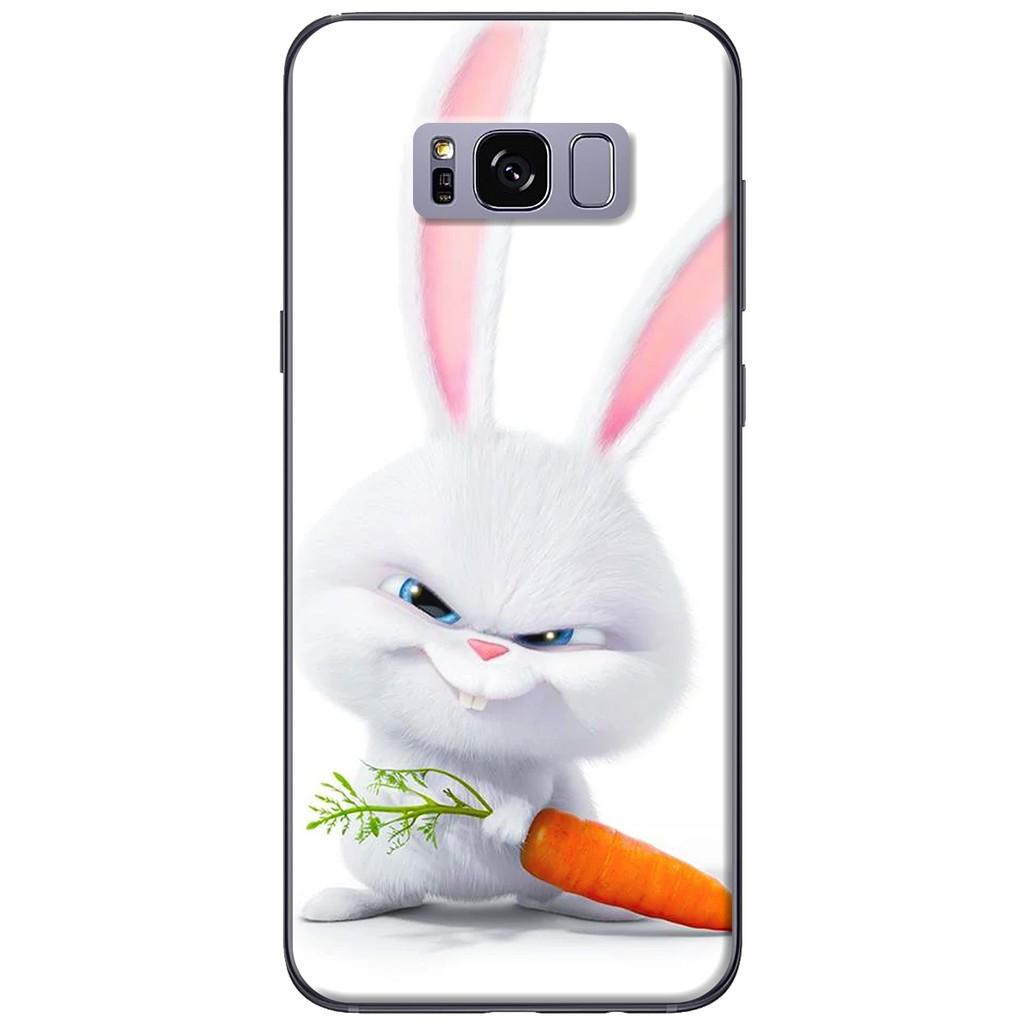 Ốp lưng Samsung S8/S8 plus Thỏ cà rốt