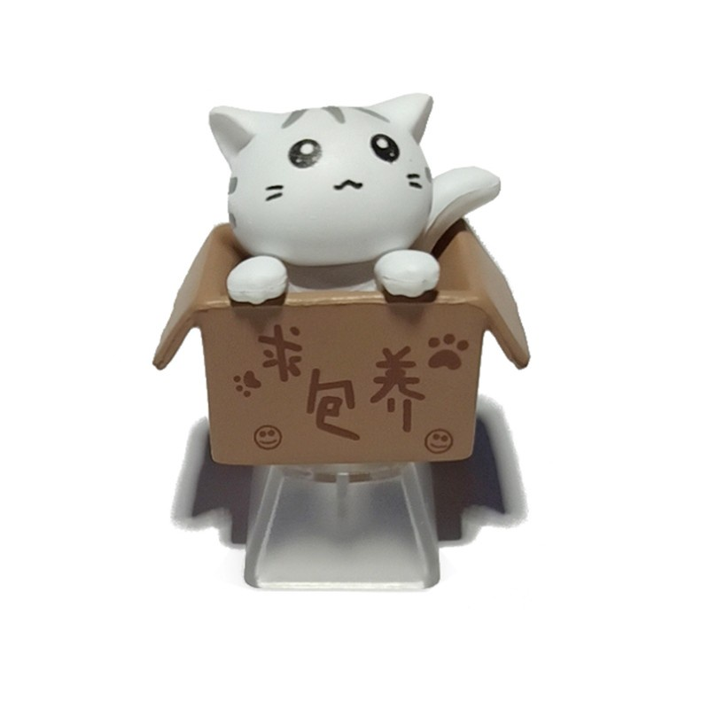 1 Nút Bàn Phím Cơ Bằng Abs Hình Mèo Hoạt Hình Dễ Thương Cho Bé R4 Height Oem