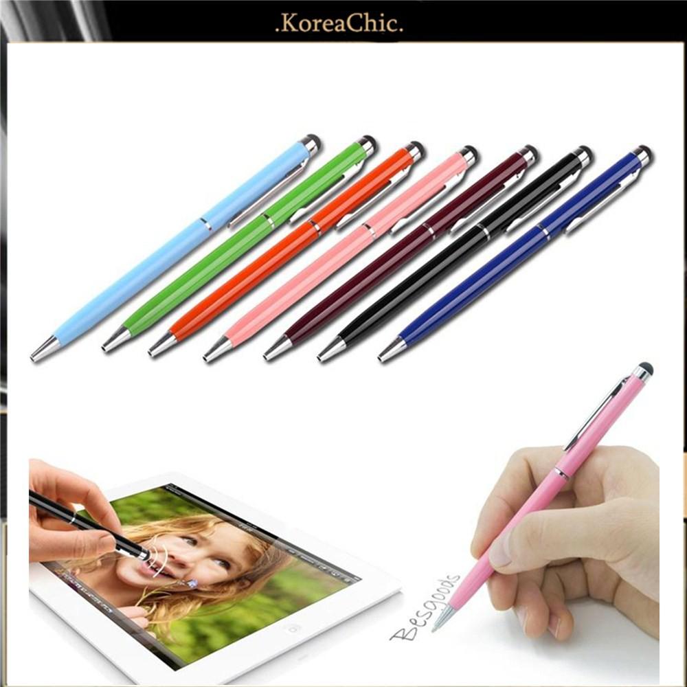 Bút cảm ứng kiêm bút bi 2 trong 1 cho điện thoại thông minh/máy tính bảng