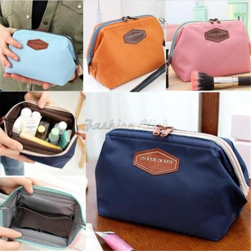Women Portable Cute Multifunction Beauty Travel Cosmetic Bag Organizer