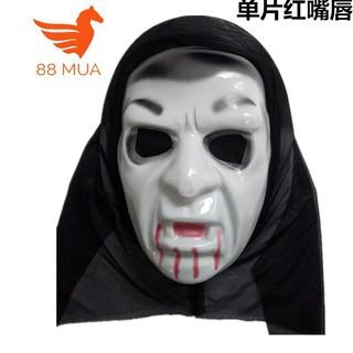 mặt nạ halloween Scream Sát nhân giấu mặt-(M144) nghỉ bán xả