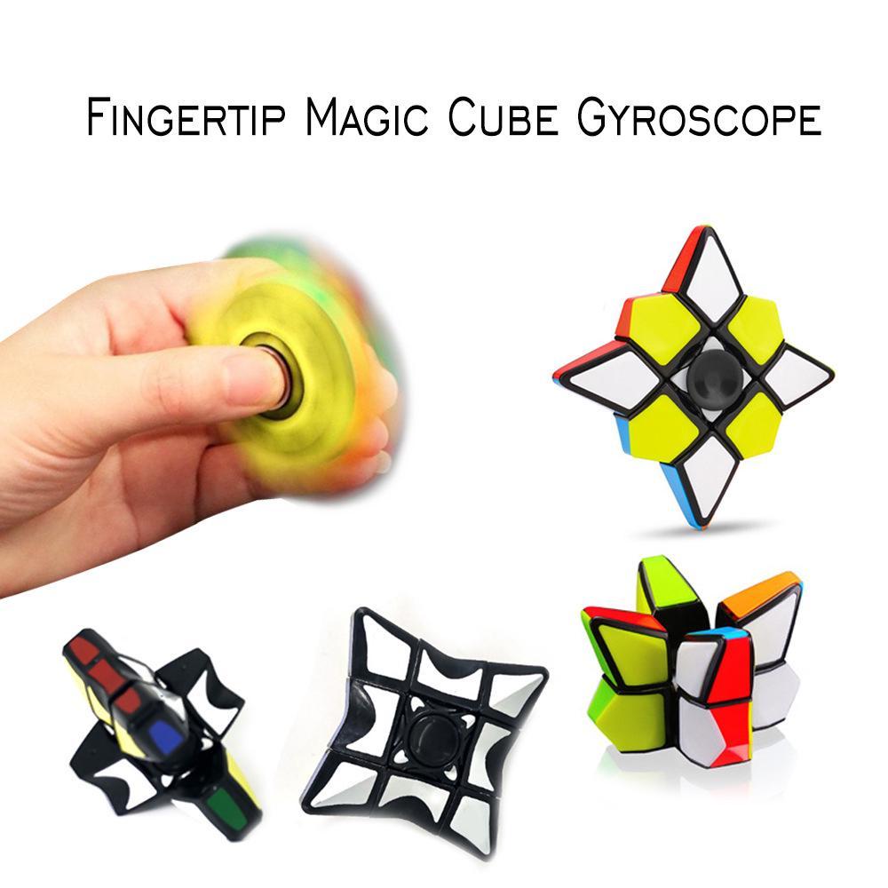 2019 New Cube Fidget Finger Spinner Hand Decompression Kids Toys 439#