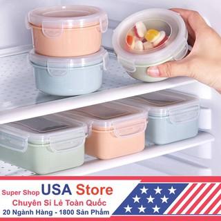 Yêu ThíchHộp Nhựa Đựng Đồ Tủ Lạnh - Vuông / Tròn - Bảo Quản Hộp Kín