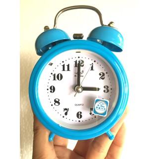 Đồng hồ báo thức để bàn mini 2832 (màu xanh)