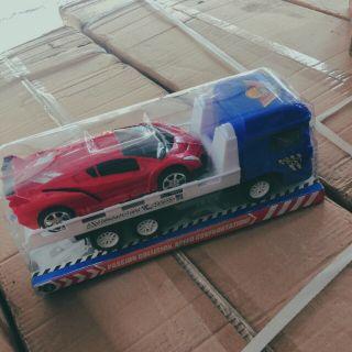 Xe chở siêu xe bộ 2 chiếc