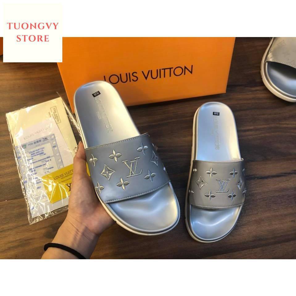 [ Tuongvystore ] Dép thời trang Louis Vuitton siêu cấp phản quang