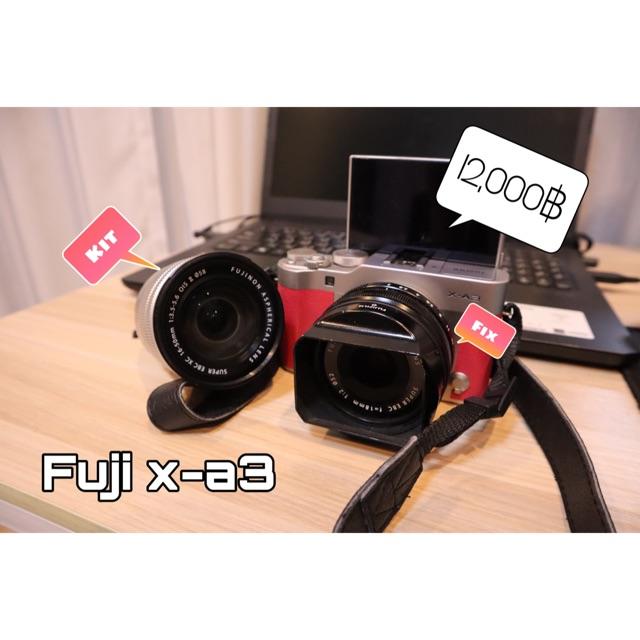 (มือสอง) fuji x-a3