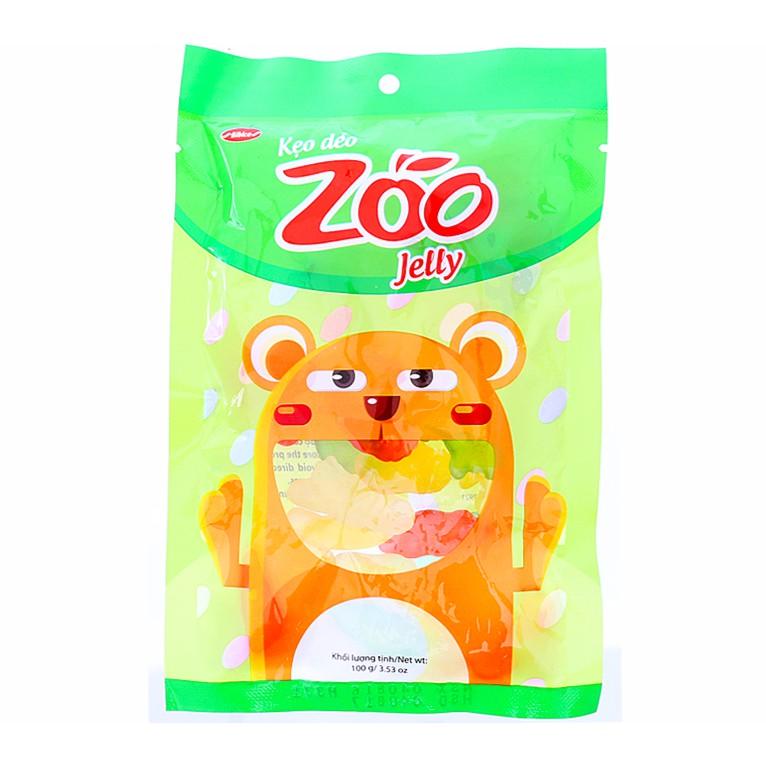 Kẹo dẻo chip chip Zoo vị trái cây 100g