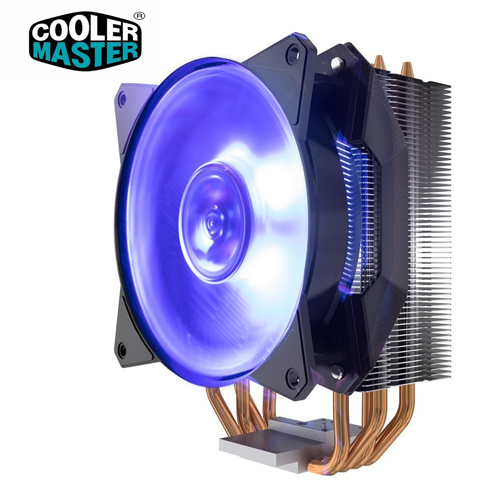 Quạt tản nhiệt Cooler Master MA410P - Hiệu năng mạnh mẽ, LED RGB