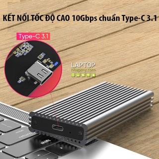 Box Chuyển SSD M2 NVME Blueendless Type C Tản nhiệt Nhôm 2 lớp thumbnail