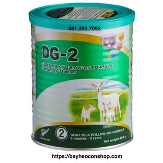 [Date 04 2022] Bộ 03 sản phẩm sữa dê công thức DG-2 400g thumbnail