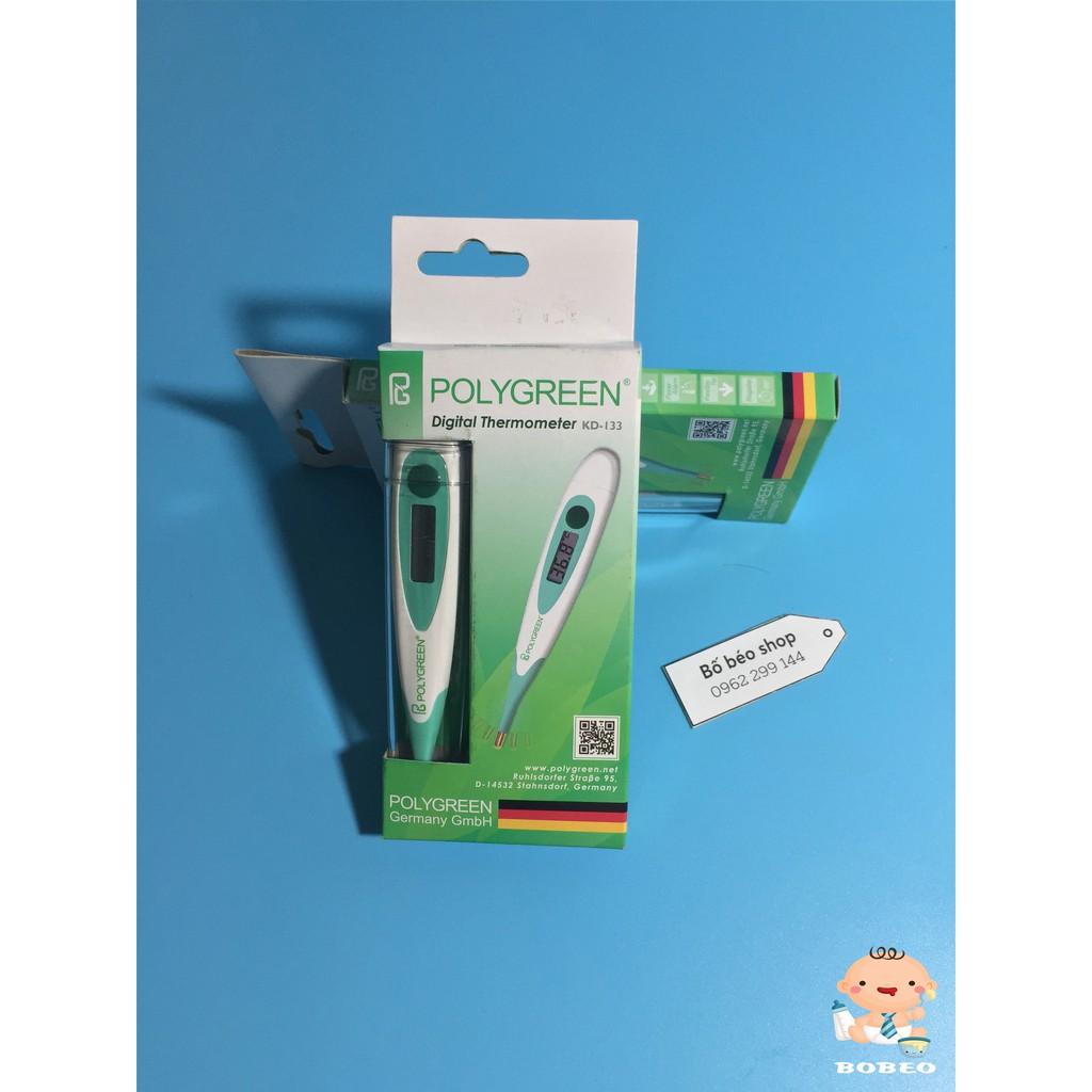 Nhiệt kế điện tử đầu mềm Polygreen KD-133
