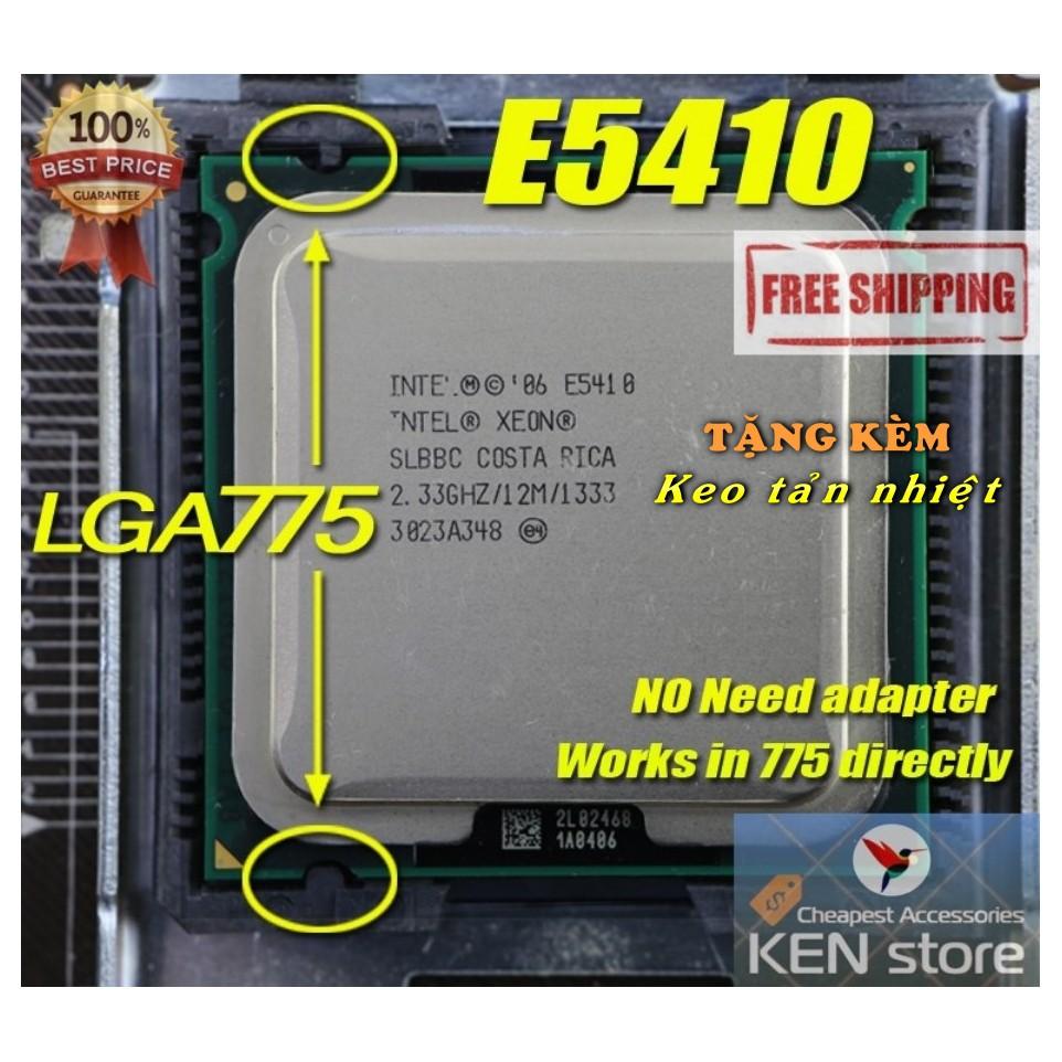 CPU Intel Xeon E5410 2.33GHz 4 Core 12MB Cache FSB 1333Mhz SK775 - 3088112 , 802450768 , 322_802450768 , 368000 , CPU-Intel-Xeon-E5410-2.33GHz-4-Core-12MB-Cache-FSB-1333Mhz-SK775-322_802450768 , shopee.vn , CPU Intel Xeon E5410 2.33GHz 4 Core 12MB Cache FSB 1333Mhz SK775