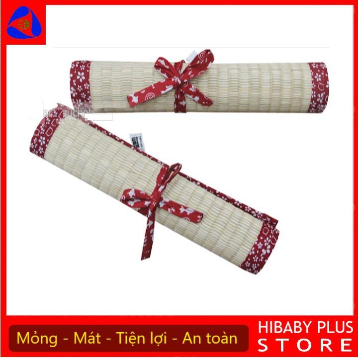 Chiếu Cói Tatami mỏng mát Dành Cho Bé nhỏ gọn siêu tiện lợi (Hibaby+ Store)