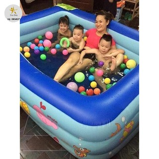 [SALE SIÊU HOT] Bể bơi 3 tầng kt:150x110x55 cm
