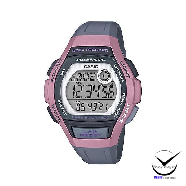 Đồng Hồ Casio Nữ Dây Nhựa LWS-2000H-4AV Chính Hãng