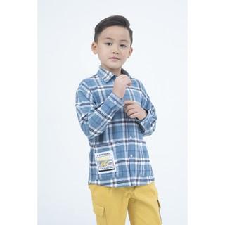 [Mã WABRIVY282 giảm 50k đơn 0Đ] IVY moda áo sơ mi bé trai MS 17K0981 thumbnail