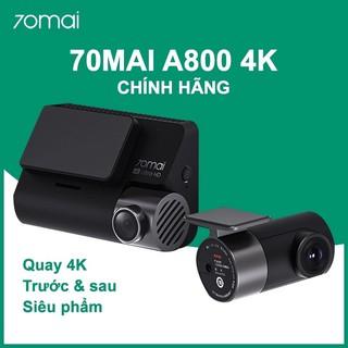 Yêu ThíchCamera hành trình Xiaomi 70mai A800 4K Dual - quay trước sau, bảo hành 1 năm