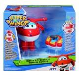 Đồ chơi điều khiển biến hình - Jett Tia Chớp SUPERWINGS - YW710730