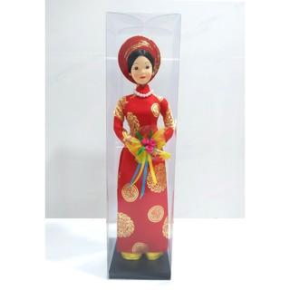 Búp bê áo dài truyền thống ((28cm x 8cm x 8cm)