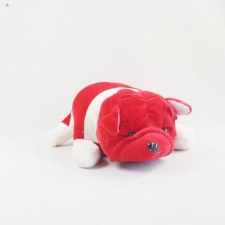 Gấu bông Oenpe Pitbull màu đỏ SẢN PHẨM HOT