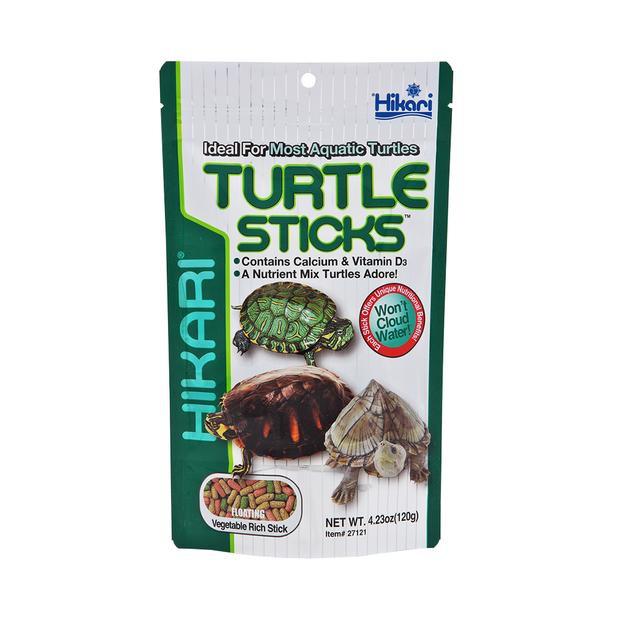 Hikari Turtle Sticks อาหารเต่าชนิดลอยน้ำสูตรสำหรับ เต่าน้ำทุกชนิด (120 กรัม)