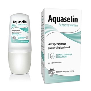 Lăn khử mùi Aquaselin Sensitive Women không mùi dành cho nữ mùi hôi nhẹ (lọ 50ml) thumbnail