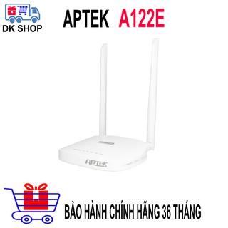 Wifi Router APTEK A122E Băng Tần 5Ghz Chuẩn AC1200/ 867Mbps – Phát Sóng Cực Mạnh – Chính Hãng – Bảo Hành 36 Tháng.