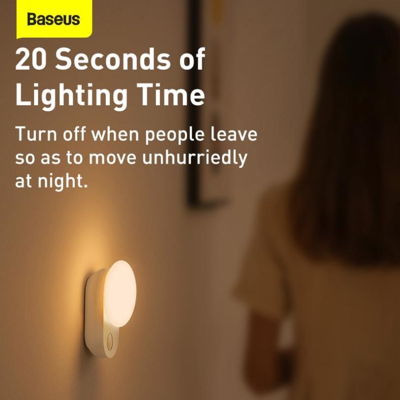 Đèn Cảm Ứng Ban Đêm Không Dây BASEUS Có Từ Dạng Treo Chỉ Cần Chạm