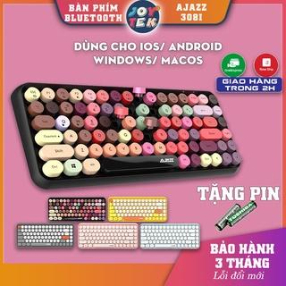 Bàn phím Ajazz I Bàn phím không dây Bluetooth mini cho điện thoại ipad laptop macbook giá rẻ