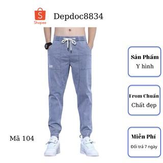 Quần jean nam cao cấp, chất liệu bò ( jean ) mềm mịn, from chuẩn, có nhiều mẫu đẹp mới đi kèm depdoc04