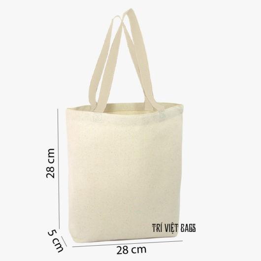 Túi vải bố (Canvas) không khóa kéo