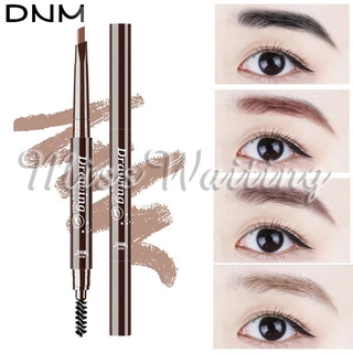 DNM Eyebrow Pencil Thrush Pen Thrush Tool Makeup Multi Function 5 Color Party Beauty Health Waterproof Drawing