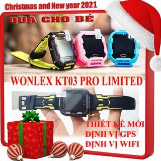 Wonlex KT03 PRO LIMITED [CHÍNH HÃNG] 1 đổi 1 Đồng hồ thông minh định vị trẻ em