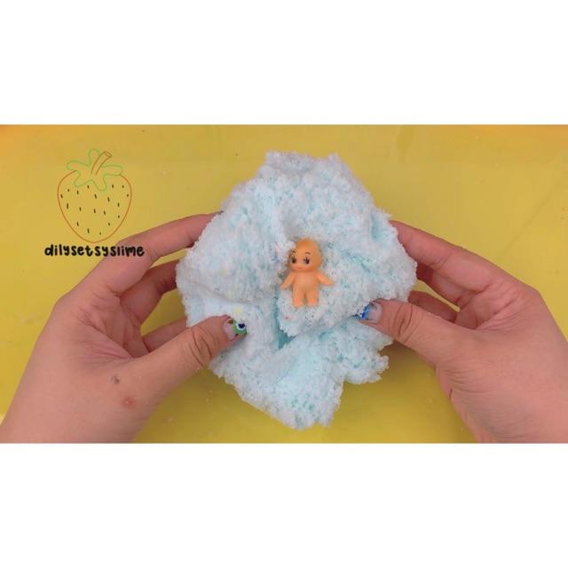 (dilysetsyslime) Mông em bé - cloud slime 250ml
