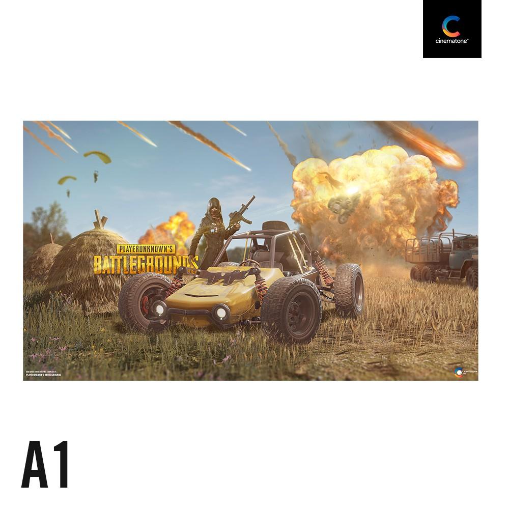 Poster Trò Chơi Game PUBG 2019 - Phiên bản lớn 70x40cm