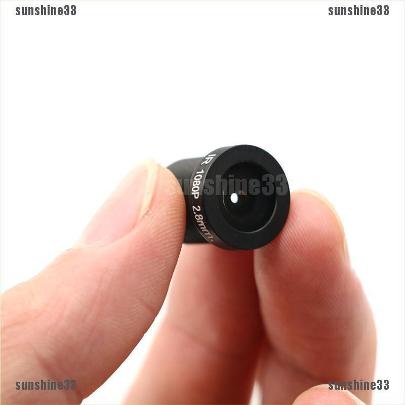 Ống kính 1080P 2MP 1/2.7'' 2.8mm cho máy quay CCTV Full HD  M12*0.5 MTV