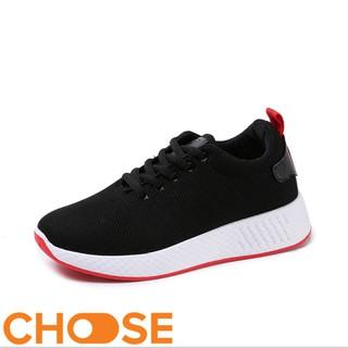 Giày Nữ Choose thể thao màu trắng Vải Sneaker Lười GIÁ RẺ SINH VIÊN thumbnail