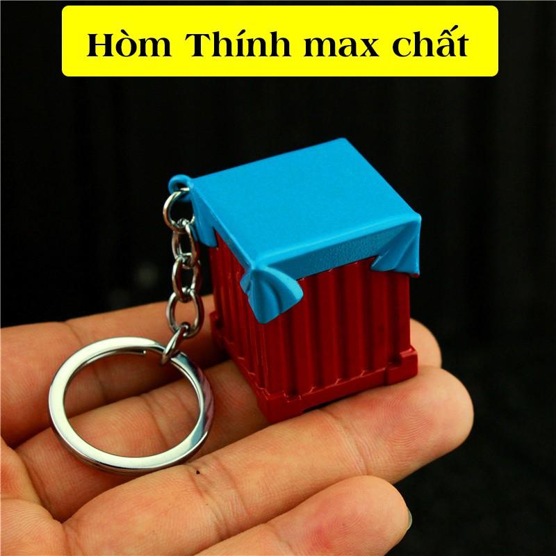 Mô hình pubg Hòm Thính max chất dùng làm móc khóa pupg